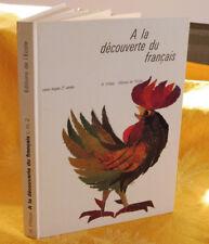 Filloux H.  A La Découverte Du Français Vocabulaire, Grammaire, manuel scolaire