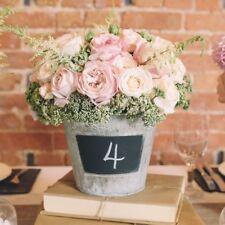 1 x Blackboard Bucket / Chalkboard Bucket Wedding Decoration Centrepiece