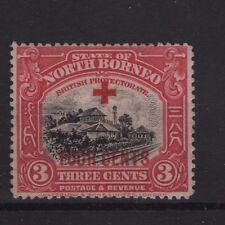 North Borneo SG237 1918 3c+4c  Mounted Mint