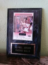 Michael Jordan Pictures of Excellence MJ Career Collection Early Years Plaque