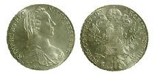 s62_23) AUSTRIA - Maria Teresa d'Austria  - Tallero 1780 Restrike Riconio Ar
