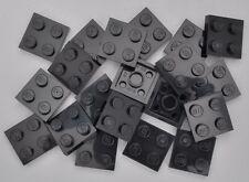 4124096 Lego Scharnierplatte 2 x 2 Schwarz 5 Stück