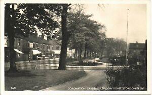 Stoke on Trent. Coronation Gardens, London Road # 145.