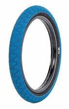 1 x RANT SQUAD BMX BIKE BICYCLE TIRE 20 x 2.20 SHADOW HARO CULT SUBROSA BLUE NEW