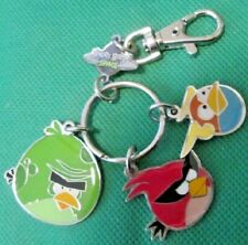 ANGRY BIRDS SPACE metal charms keyring key chain keychain clip-on
