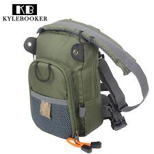 Fly Fishing Chest Bag Waist Pack Lightweight Comfortable Compact Bag Fishermen