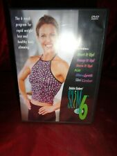 Debbie Siebers Slim in 6 (DVD, 2-Disc) Rapid Weight Loss, Healthy Body Slimming