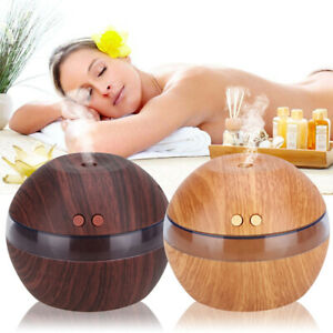 Ultrasonic Essential Oils Aroma Diffuser Air Humidifier Aromatherapy Purifier.UK