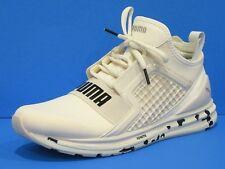 PUMA Men's Authentic Ignite Limitless Swirl Sneaker, Whisper White  Brand New