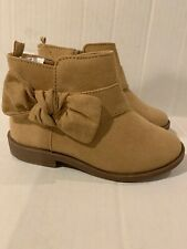 NWT Gymboree Tassel Boots Shoes Booties Slip On Girls Size 10 Nude Tan Fall Boot