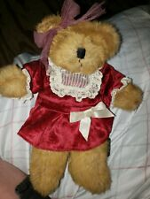 "11"" Russ Berrie Juliet Plush Tan Bear"