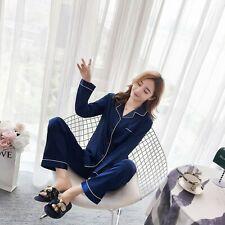 Brand New Saloni Satin Silk Long Sleeve Sleepwear Baju Tidur pyjamas Saiz M-5XL