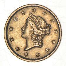 1853 $1.00 Liberty Head - U.S. Gold Coin *910
