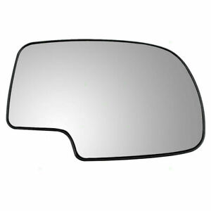 FOR 99-06 CHEVY SILVERADO / GMC SIERRA MIRROR GLASS W/BRACKET RIGHT PASSENGER