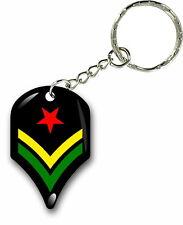 Keychain key ring keyring car rasta flag jamaica rastafarai lion of judah reggae