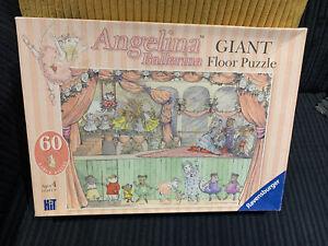 RAVENSBURGER  'Angelina Ballerina'  Giant 60-piece  JIGSAW / FLOOR PUZZLE