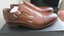 Gordon Rush Tobacco Double Monk Shoe - Grayson Size 10 US -  MADE in ITALY!
