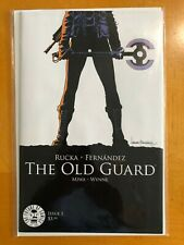 The Old Guard Issue 1 First Print Image Comics Netflix Movie Greg Rucka