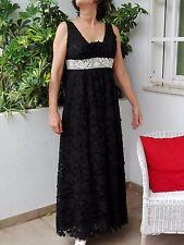 Vestido fiesta, Jaime Piquer, negro, talla 38/40