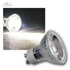 5 x COB GU10 Glas Leuchtmittel daylight weiß 420lm Strahler Birne Spot Lampe 5W