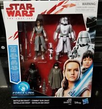 "Star Wars 3.75"" Last Jedi BATTLE ON CRAIT FO GUNNER WALKER DRIVER NEW IN STOCK"
