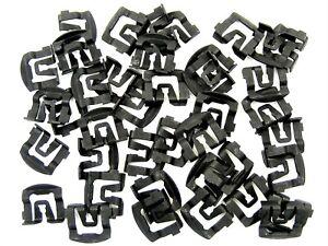 Mazda Windshield & Rear Window Trim Molding Clips- 40 clips- #026F