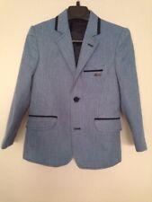 Montella Kids Two Piece Lined Suit Blue Boys Set Size 5