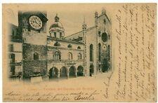 COMO - Facciata del Duomo col Broletto - 1899