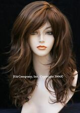 Delightful New Long Layered Auburn Mix Wig JSPP 27-30-33