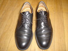 BALLY chaussures chic taille 42 noir cuir  TTBE Ref : N30
