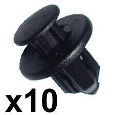 10x pare-chocs & sill trim clips - 12mm trou-s' adapte certains honda, nissan, mazda