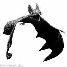 Halloween Horror Vampire Fake Rubber Bat Hanging Toy Prop Party Decoration