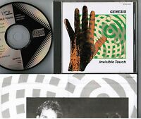 GENESIS Invisible Touch JAPAN CD 32VD-1023 1986 1st issue BLACK TRIANGLE LABEL