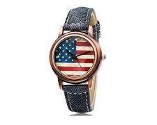 Reloj Analogico Bandera Estados Unidos USA Flag Analogic Watch A1847