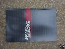 ORIGINAL SHOWROOM NEW CAR SALES BROCHURE for 84 NISSAN 300ZX 200SX PULSAR