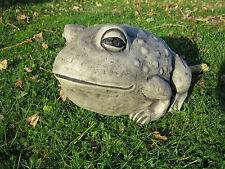 Large FROG  stone garden ornament