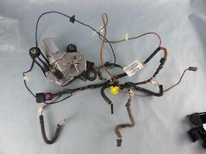 OPEL VECTRA C SIGNUM moteur essuie-glace arrière + câblage dégivrage GM 24417605