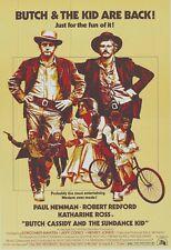 Butch Cassidy & Sundance Kid Mini Movie Poster archival quality 8.50 x 11 photo
