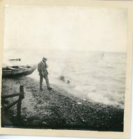Suisse, bord du lac près du mont Cervin  Vintage print,  Photomécanique  8
