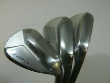 New Honma TW W4 T/World W-4 wedge set 52* 56* 60* AW Gap SW Sand LW Lob wedges