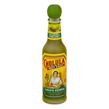 NEW CHOLULA HOT SAUCE GREEN PEPPER 5 FL OZ IMPORTED FROM MEXICO FREE SHIPPING