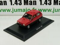 IT66N Voiture 1/43 Starline : FIAT Panda rouge 1980