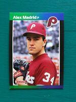 1989 Donruss ALEX MADRID eBay's Hottest Error Card (No Period 1 Star Variation)
