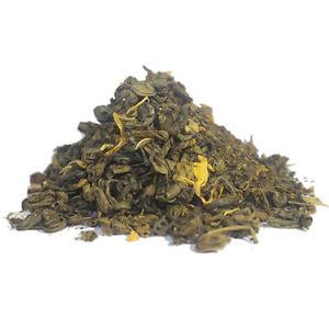 Lemon Gunpowder Green Tea - Luxury Loose Leaf Weight-Loss Tea - 40g-60g