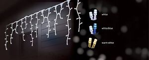 480LED 14.5M SOLAR SNOWING ICICLE CHRISTMAS LIGHTS WITH 8 FUNCTIONS