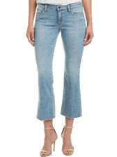 Joes Jeans Olivia Mid Rise Cropped Flare Collector Edition Mimi Light Wash Sz 27