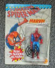 1990S, Web Shooting Spider Man Toy Biz MOC 1991 Marvel Comics .UNOPENED FREEPOST