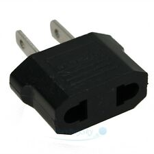 EU Euro Europe to US USA Power Jack Wall Plug Converter Travel Adapter USA