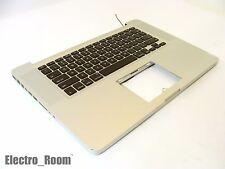 "Macbook PRO 15"" A1286 2011 2012 Unibody Top Case Keyboard 661-5854 /WORKING DENT"