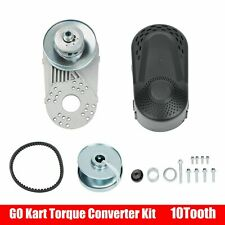 "Go Kart Torque Converter 1"" Drive Clutch Kit 10T #420/40/41 Fit Comet Tav2 Manco"